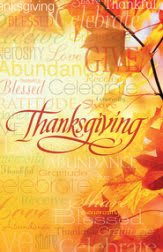 thanksgiving worship bulletins christianbook