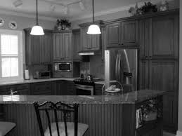 Paint Kits For Kitchen Cabinets How To Paint Kitchen Cabinets Black Distressed Nrtradiant Com