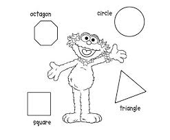 Shape Coloring Printable Coloring Pages Shapes