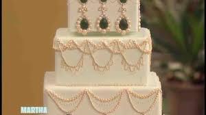 Kitchen Tea Cake Ideas by Video Bridal Shower Cake Martha Stewart