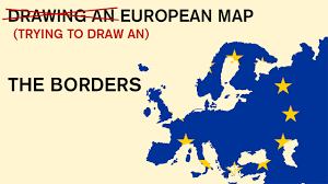 European Map by Drawing An European Map From My Memory The Borders 2 Youtube