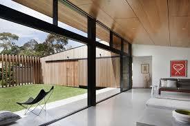 Modern House Living Room Baldridge Architects U0027 Take A Minimalist Approach For This Modern