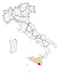 Italy Map With Cities Province Of Ragusa Wikipedia