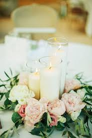 Vase And Candle Centerpieces by Best 20 Peonies Wedding Centerpieces Ideas On Pinterest White