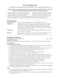 Resume For It Support 100 Computer Hardware Repair Specialist Resume 107 Best