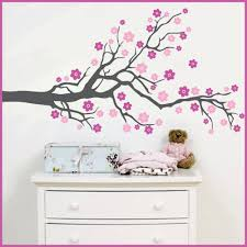 aliexpress com buy huge tree blowing cherry blossom wall decal aliexpress com buy huge tree blowing cherry blossom wall decal nursery tree flowers butterfly art baby kids room wall sticker nature wall decor 807 from