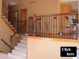 Iron Banisters And Railings Iron Spindle Gallery Kc Wood