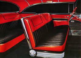 Buick Roadmaster Interior Plan59 Classic Car Art 1956 Buick Roadmaster