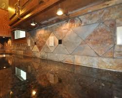 Stone Backsplash In Kitchen by Slate Stone Backsplash Great Home Decor Kitchen Remodeling