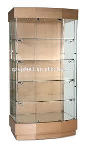 lockable glass display cabinet showcase modern style wine glass display cabinet lockable glass display