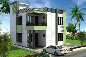 aurora 3 bhk house design plan
