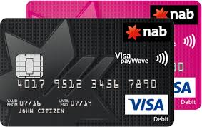 debit cards for kids nab visa debit card nab
