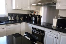 cuisine blanche et noir cuisine et blanc cuisine modele cuisine noir et blanc