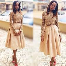 Black And Gold Lace Prom Dress Gold Two Pieces Prom Dresses Lace Long Sleeves Top And Satin