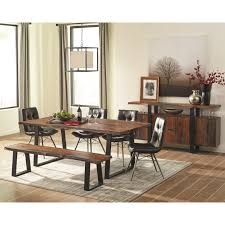Wolf Furniture Outlet Altoona by Rustic Dining Room Group With Charcoal Chairs By Scott Living