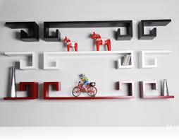 Modern Wall Mounted Shelves Wall Mounted Bookshelf Love This For Room Hmmmi Bet I Could Ikea