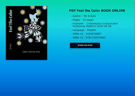 the color book pdf feel the color book online pdf docdroid