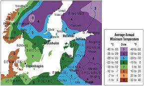 Gardening Zones Usa Map - plant hardiness zones