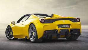 ferrari yellow ferrari 458 speciale aperta revealed fastest spider ever