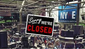 stock market holidays 2017 stock investor