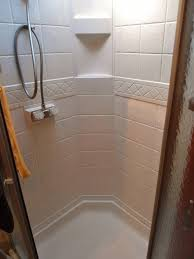 keep shower stall clean