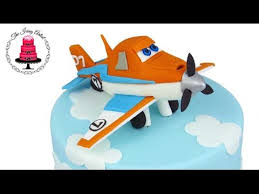 planes cake dusty the plane 3d cake from planes 2 how to with the icing