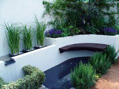 private modern courtyard by lucy bravington landscape by design