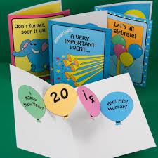 new year photo card make new year pop up cards and invitations pop up cards
