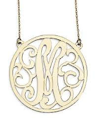 Single Initial Monogram Necklace If You Like It Then Put A Monogram On It U2026
