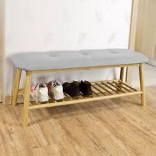 sitzbank für badezimmer sitzbänke hocker aus bambus fürs badezimmer ebay