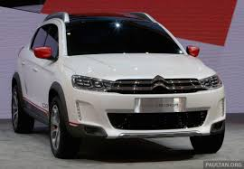 citroen c xr concept suv unveiled at beijing show