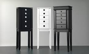 Tall Jewelry Armoire A Mirrored Jewelry Armoire Must Have For A Collector We Bring Ideas