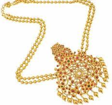 traditional gold temple jewellery indusladies