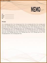 free memo template word excel pdf