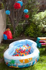 1st birthday party activity entertainment ball pit great idea