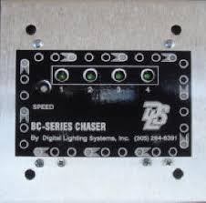 digital lighting systems the bc series light led chaser flasher
