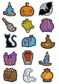 22 creepy halloween icons freebie u2013 smashing magazine