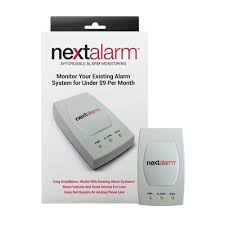 nextalarm wired alarm broadband adapter for existing alarm systems