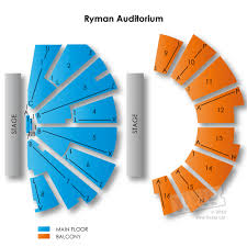 ryman seating map ryman auditorium seating guide and concert schedule seats