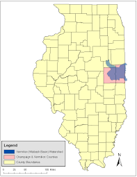 Illinois On The Map by Natural Resources Damage Assessment