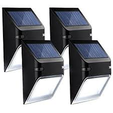 mpow solar light instructions mpow solar fence light outdoor waterproof fence light auto turn on