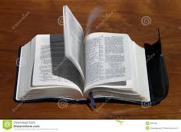 holy spirit flipping bible pages royalty free stock image image