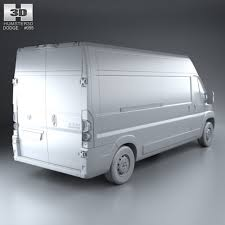 dodge cargo dodge ram promaster cargo l3h2 2013 by humster3d 3docean