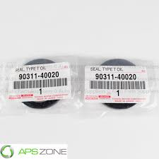 lexus sc300 for sale philippines genuine toyota lexus camshaft seal set of 2 oem 90311 40020 ebay