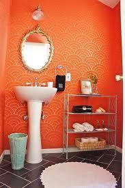 orange bathroom decorating ideas the 25 best orange bathrooms ideas on orange bathroom