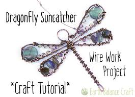 Learning To Make Jewelry - dragonfly suncatcher tutorial learn to make this pretty blue
