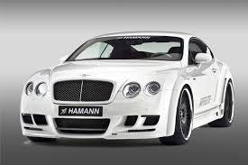 white bentley black rims hamann imperator