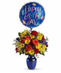 birthday balloon bouquet delivery birthday flowers balloon bouquet pueblo co cbell s flowers