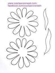 flores de foamy moldes flores foami jpg 601 800 flores en goma eva pinterest