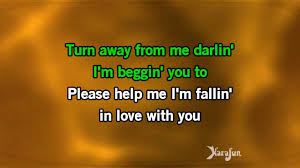 Please Love Me Quotes by Karaoke Please Help Me I U0027m Falling In Love With You Hank